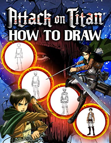 attack on titan drawing book - 5