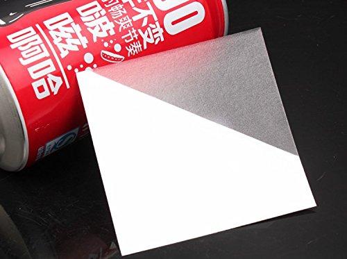 EXQULEG 10 Stück Reparaturflicken,Transparent Klebeflicken, Flicken Folie 7x7 cm, Wasserfest, Selbstklebend für Fast Alle Folien