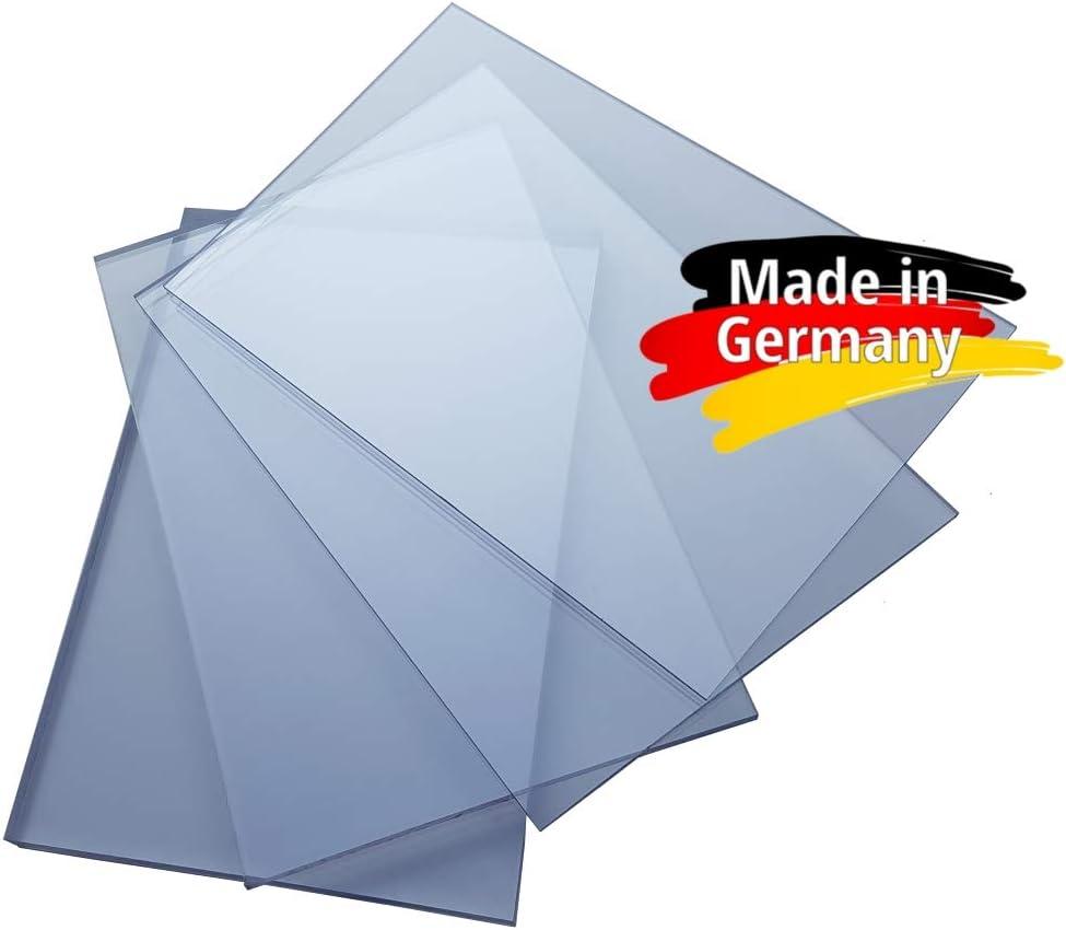 Makrolon//Polycarbonat Scheibe//Platte Zuschnitt 2-8 mm transparent//klar 5 mm, 500 x 300 mm
