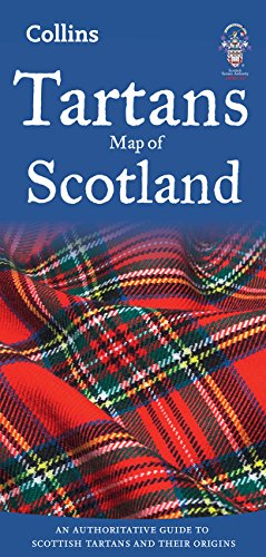Collins Maps: Tartans Map of Scotland (Collins Pictorial Maps)
