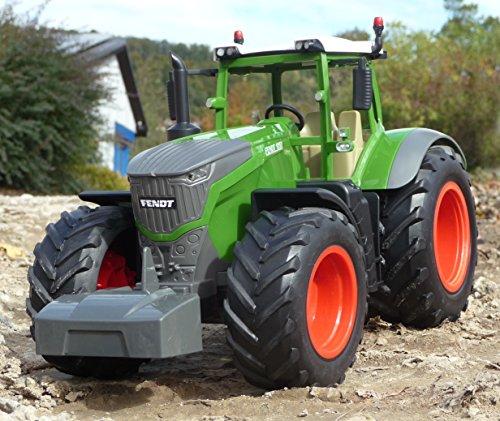 RC Auto kaufen Traktor Bild 6: WIM-Modellbau RC Traktor FENDT 1050 Anhänger in XL Länge 74cm Ferngesteuert*