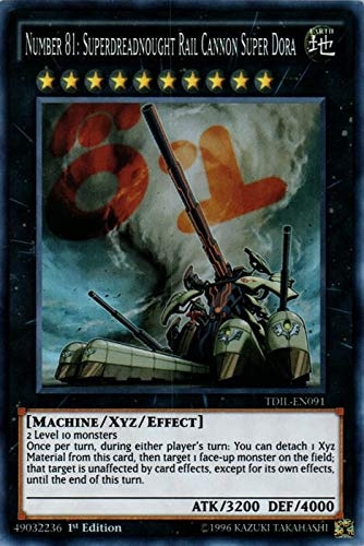 YU-GI-OH! - Number 81: Superdreadnought Rail...