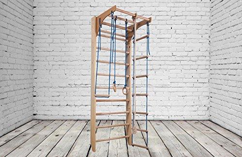 Zona de juegos de madera para interior KM-02-220 Escalera sueca Complejo deportivo de gimnasia: Amazon.es: Deportes y aire libre
