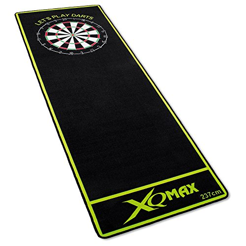 XQmax Dartmatte Let's Play Darts