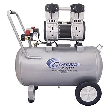 California Air Tools 15020C 2 HP Ultra Quiet Oil Free Lightweight Air Compressor