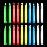 Confezione da 20 bastoncini luminosi - I bastoncini forniscono 12 ore di luce con gancio - Bagliore impermeabile e non tossico in The Dark Forniture per feste - Bastoncini leggeri