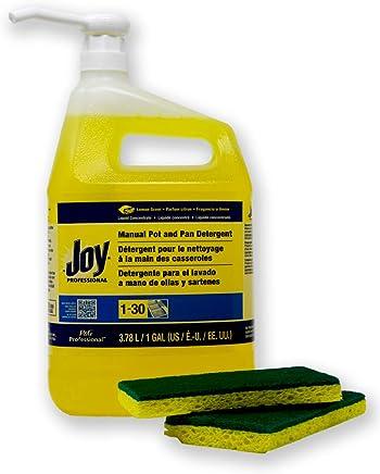 Joy Professional Pot and Pan Detergent, Lemon Scent, (128 FL oz.)