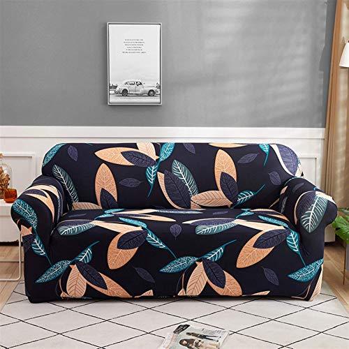 Cubierta de sofá Floral Cubierta de sofá elástica para Sala de Estar Sofá de Esquina Moderna Sofá Sofá Sillón Sillón Cubierta de sofá 1/2/3/4 plazas (Color: Color 9, Especificación: 2 plazas 145 185