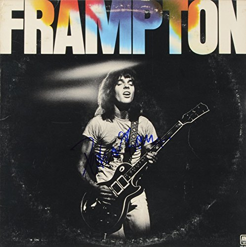 Peter Frampton Autographed Frampton Album Cover - COA - PSA/DNA Certified - Music Albums