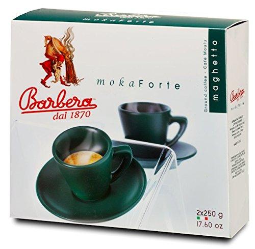 500gr von moka Forte gemahlener Doppelpack - 500gr von gemahlener Kaffee Barbera Kaffee Moka Forte Doppelpack - 500gr von gemahlener Kafee - moka Forte Doppelpack - Barbera Kaffee