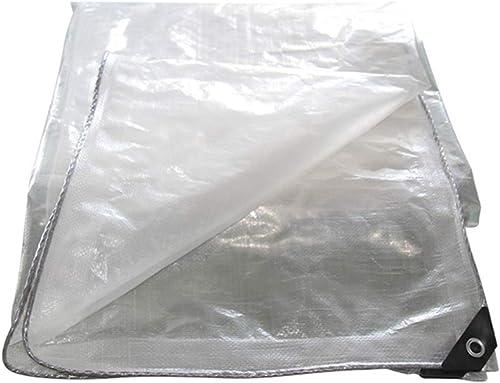 KYSZD-Baches épaissir Bache Transmission de la lumière Imperméable Poncho Anti-age Crème Solaire Résistant aux UV Antigel Serre Isolation Tissu imperméable 0.3mm