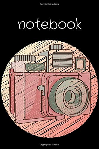 Photography Challenge Composition Notebook: Cute Polaroid Camera Journal & Notebook 6x9 Lined Ruled Notebook & Journal with 120 Pages - Perfect for Writing School College etc.   Gift for Photographers