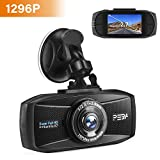 Dashcam 1296p Super Full HD Nachtsicht G-Sensor Autokamera DVR Camcorder 2.7 Zoll LCD-Bildschirm
