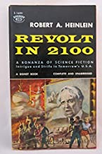 Rare - Robert A Heinlein REVOLT IN 2100 S1699 Second Signet Paperback Printing 1959
