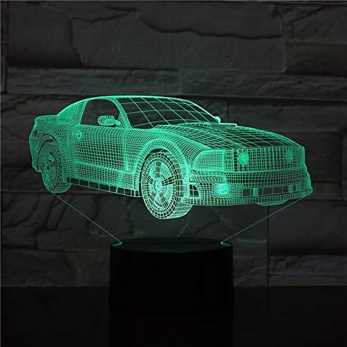 Car Bus Van Design Night Light Color Change Lights Slide Table Lamp para niños Gift Drip