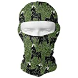 Sdltkhy Goats in A FieldInch Men Women Balaclava Neck Hood Full Face Mask Hat Sunscreen Windproof Breathable Quick Drying White Unisex16