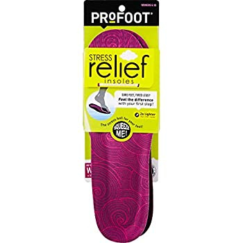 ProFoot Stress Relief Insole Women s 6-10 1 Pair