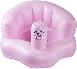 Asiento de baño infantil Inflable Sofá de PVC Aprendizaje del taburete Asiento portátil Baño para niños Silla de comedor
