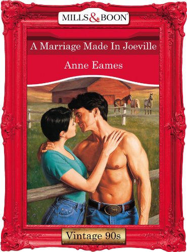 A Marriage Made In Joeville (Mills & Boon Vintage Desire) (English Edition)