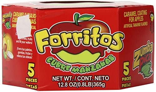 Zumba Pica Forritos with Natural Tamarind 5 Count