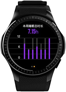 Professional Sports Smart Watch Quad Core Smartwatch MTK2503 2G WiFi BT Call 0.2MP TF Card for Android iOS, B