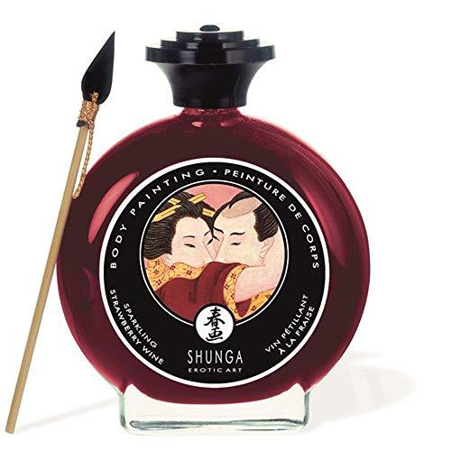 Body Paint - Pintura Corporal Comestible Sabor Cava y Fresas 100 ml. – Shunga