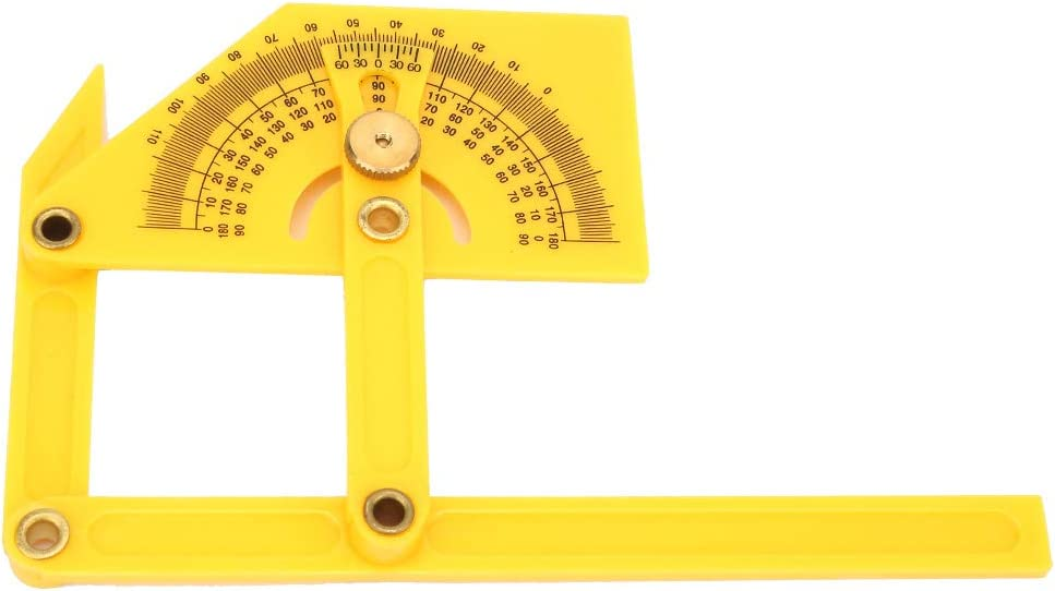 Okuyonic Import Wear Resistance 180 Jacksonville Mall Protracto Pointer Protractor Degree