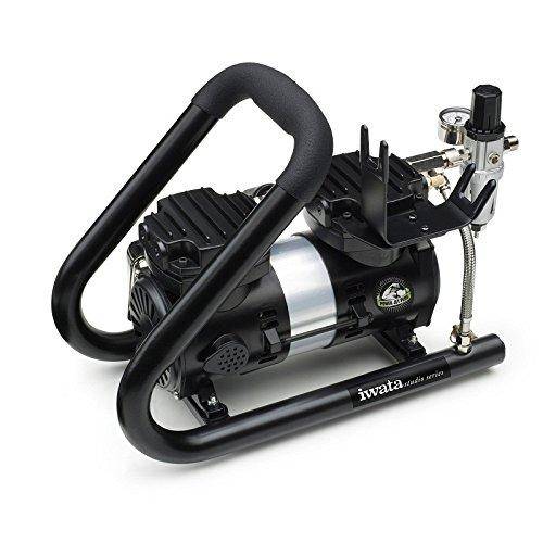Stille compressor Iwata IS-925HT voor airbrush