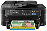 Epson WF-2760 All-in-One Wireless Color Printer with Scanner, Copier, Fax, Ethernet, Wi-Fi Dire…