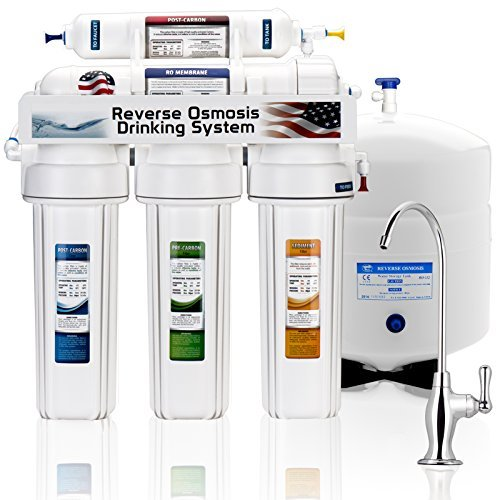Express Water Reverse Osmosis Water Filtration System – 5 Stage...
