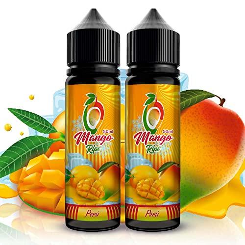 E-liquid 2 x 50 ml Mango maduro de la variedad Kent de...