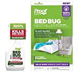 Proof Bed Bug Nest Killer - Complete Kit for Removing Both Surface & Deep Lying Bed Bugs & Mites from Household Furniture & Mattresses. (Kit, Large)