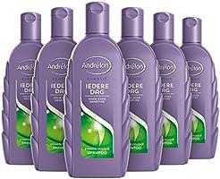 Andrélon Classic Iedere Dag Shampoo voor ieder haartype - 6 x 300ML - Voordeelverpakking