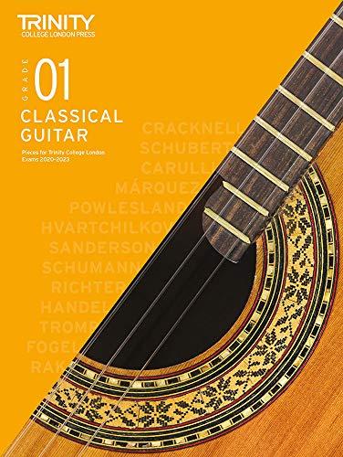 Trinity College London Classical Guitar Exam Pieces 2020-2023: Grade 1