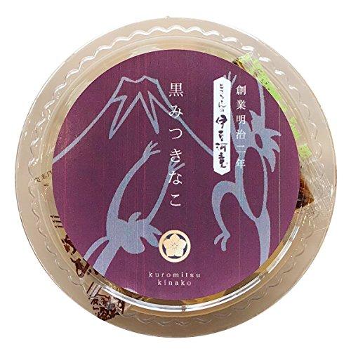 伊豆河童 カップ入り 黒蜜きな粉 あんみつ 1個 角切りところてん 和菓子