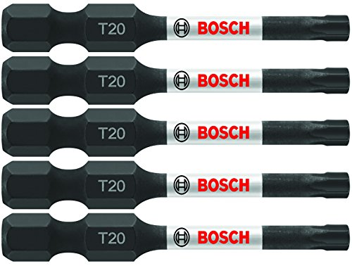Bosch ITT20205 5 Pc. 2 In. Torx #20 Impact Tough Screwdriving Bit