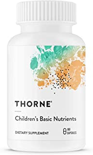 Thorne Research - Children's Basic Nutrients - Easy-Dosing Multi-Vitamin-Mineral Supplement for Children - Four and Older - 180 Capsules