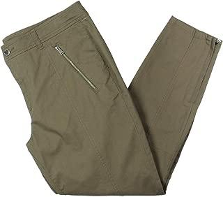Womens Josilin Solid Straight Leg Cargo Pants