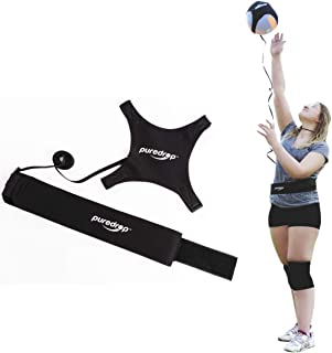 Puredrop Volleyball Training Equipment Aid Great Trainer for Solo Practice of Serving Tosses and arm Swings Returns The Ba...