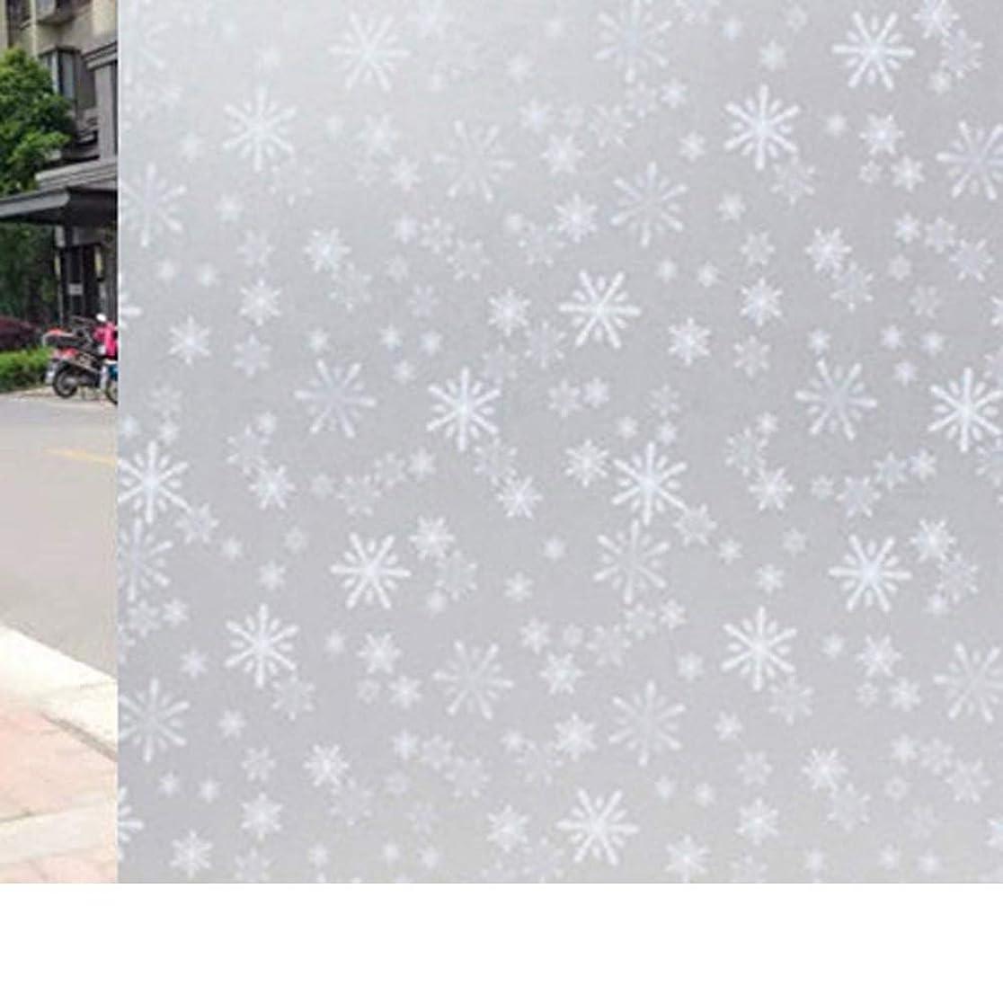 お風呂を持っているばかせっかちYiwanda 窓断熱シート 窓用フィルム 目隠しシート ガラスフィルム UVカット 自己粘着 紫外線対策 飛散防止 防寒 省エネ 断熱 遮光 浴室 (1,90*2000CM)