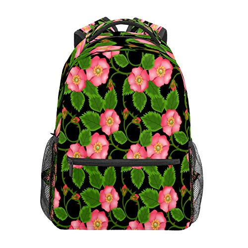 Business Laptop Backpack Travel Hiking Camping Daypack Morning Glory Garden College Bookbag Large Diaper Bag Doctor Bag School Backpack Water Resistant Anti-Theft for Women&Men