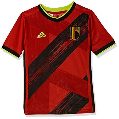 adidas Jungen T-Shirt RBFA H JSY Y, Rojuni, 128 (7/8 años), EJ8551