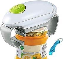 Elektrische potopener, Restaurant Can Opener, Glad Rand Automatische Potopener voor Individuen, Artritis en Huisvrouw,...