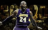 printdesign Kobe Bryant Lakers Basketball - Los Angeles Sport Poster Wall Decor Cartel Deportivo - 71 X 43 cm