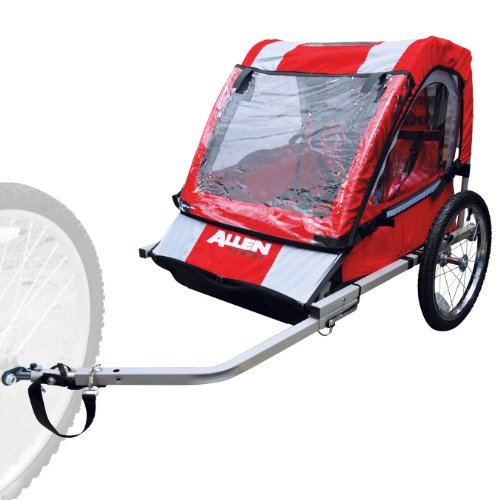 Allen Sports 2-Child Steel bicicleta Trailer (Red)
