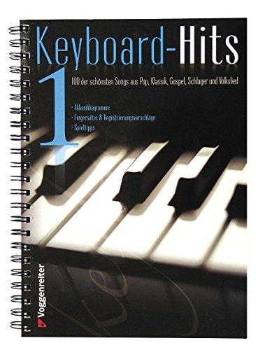 Keyboard-Hits 1: 100 der schönsten Songs aus Pop, Klassik, Gospel, Schlager und Volkslied von Jeromy Bessler (23. November 2009) Spiralbindung