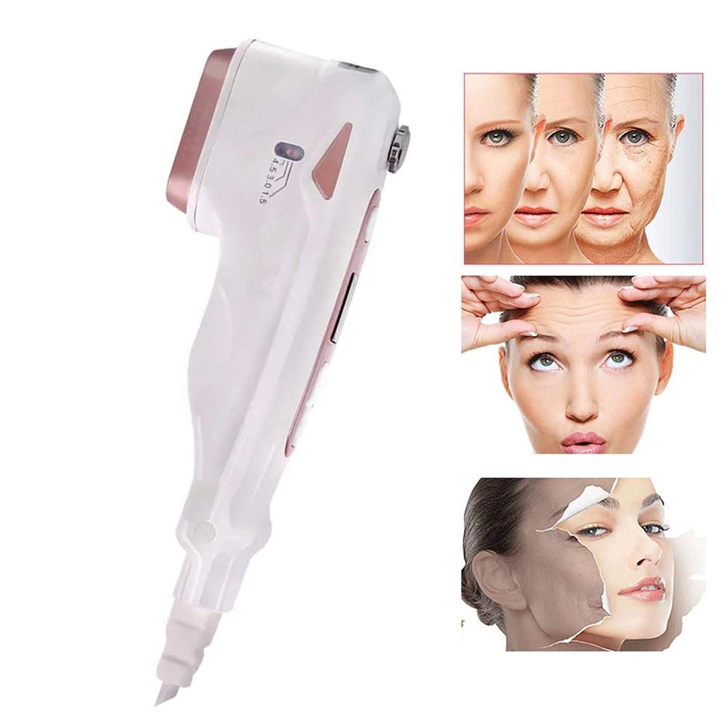 いじめっ子一元化する履歴書皮の若返りの取り外しのしわの反老化のスキンケアの表面上昇の美顔術機械のためのHIFU RFの無線周波数の美顔術機械
