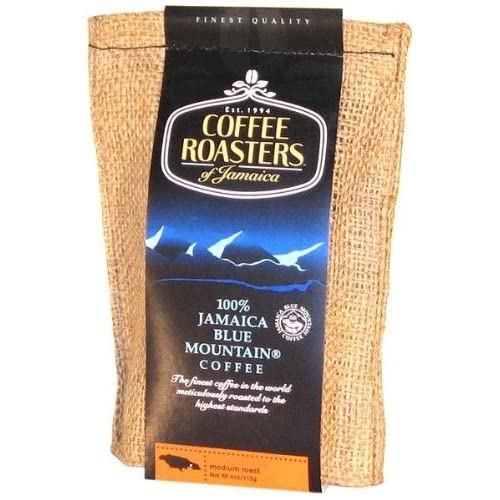 Blue Mountain Coffee 100 Jamaica Roasted And Ground 113g