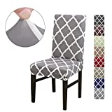 LiveGo Chair Cover, 4 Pack Stretch Dining Chair Covers High Back Chair Protective Cover Slipcover,Elastic...
