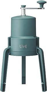 ドウシシャ 氷かき器 手動 LivE 【かちわり手動かき氷器】 収納袋付き 製氷カップ付き グリーンIS-D-20GR